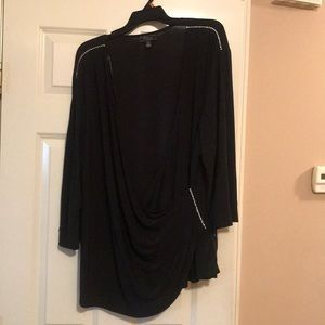 Low cut blouse that has never been worn.